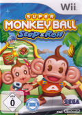 Super Monkey Ball: Step & Roll Wii Front Cover