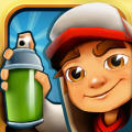 Subway Surfers iPad Front Cover
