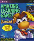 Amazing Learning Games with Rayman DOS Front Cover