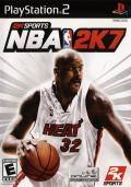 NBA 2K7 PlayStation 2 Front Cover
