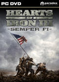 Hearts of Iron III: Semper Fi Windows Front Cover