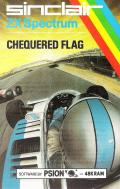 Chequered Flag ZX Spectrum Front Cover