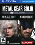 Metal Gear Solid: HD Edition PS Vita Front Cover
