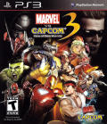 Marvel Vs. Capcom 3: Fate of Two Worlds PlayStation 3 Front Cover