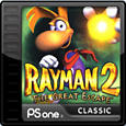 Rayman 2: The Great Escape PlayStation 3 Front Cover