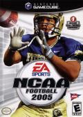 NCAA Football 2005 GameCube Front Cover