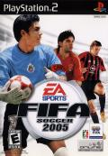 FIFA Soccer 2005 PlayStation 2 Front Cover