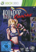 Lollipop Chainsaw Xbox 360 Front Cover