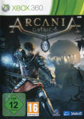 ArcaniA: Gothic 4 Xbox 360 Front Cover