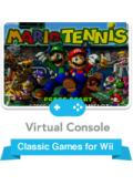 Mario Tennis Wii Front Cover
