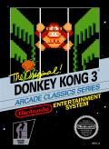 Donkey Kong 3 NES Front Cover