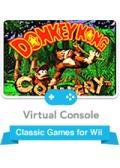 Donkey Kong Country Wii Front Cover