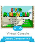 Super Mario World Wii Front Cover