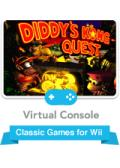 Donkey Kong Country 2: Diddy's Kong Quest Wii Front Cover