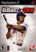 Major League Baseball 2K8 PlayStation 2 Front Cover
