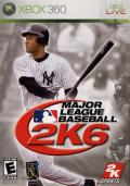 Major League Baseball 2K6 Xbox 360 Front Cover