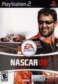 NASCAR 08 PlayStation 2 Front Cover