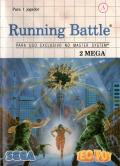 Running Battle SEGA Master System Front Cover