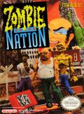 Zombie Nation NES Front Cover