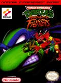 Teenage Mutant Ninja Turtles: Tournament Fighters NES Front Cover