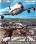 Microsoft Flight Simulator 2002: Professional Edition Windows Front Cover