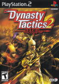 Dynasty Tactics 2 PlayStation 2 Front Cover