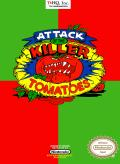 Attack of the Killer Tomatoes NES Front Cover