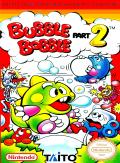 Bubble Bobble Part 2 NES Front Cover