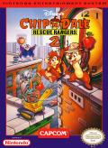 Disney's Chip 'N Dale Rescue Rangers 2 NES Front Cover