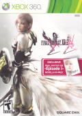 Final Fantasy XIII-2 (Final Fantasy XIII -Episode i- Novella In-Pack) Xbox 360 Front Cover
