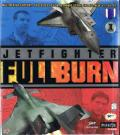 JetFighter: Full Burn DOS Front Cover