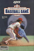 The World's Greatest Baseball Game PC Booter Front Cover
