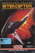 Renegade Legion: Interceptor DOS Front Cover
