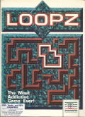 Loopz DOS Front Cover
