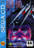 A/X-101 SEGA CD Front Cover