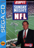ESPN Sunday Night NFL SEGA CD Front Cover