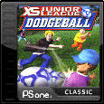 XS Junior League Dodgeball PlayStation 3 Front Cover