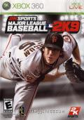 Major League Baseball 2K9 Xbox 360 Front Cover