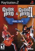 Guitar Hero & Guitar Hero II Dual Pack PlayStation 2 Front Cover