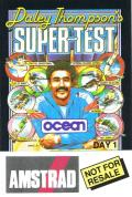Daley Thompson's Super-Test Amstrad CPC Front Cover Day 1