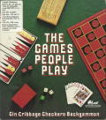 The Games People Play: Gin ∙ Cribbage ∙ Checkers ∙ Backgammon DOS Front Cover