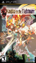 Knights in the Nightmare PSP Front Cover