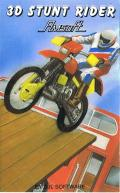 3D Stunt Rider Amstrad CPC Front Cover