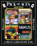 Pack of Aces Amstrad CPC Front Cover