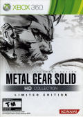 Metal Gear Solid HD Collection (Limited Edition) Xbox 360 Front Cover