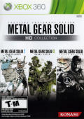 Metal Gear Solid: HD Collection Xbox 360 Front Cover