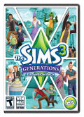 The Sims 3: Generations Macintosh Front Cover