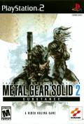 Metal Gear Solid 2: Substance PlayStation 2 Front Cover
