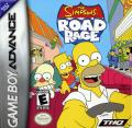 The Simpsons: Road Rage Game Boy Advance Front Cover