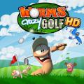 Worms Crazy Golf iPad Front Cover